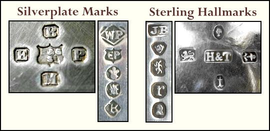 English Silverplate Marks