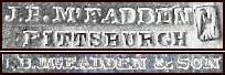 J.B.M'Fadden, Pittsburgh