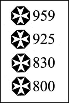 Maltese Silver Marks