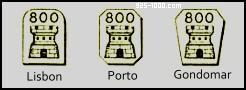 portuguese export mark 800 silver