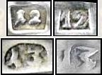 brandenburg silver makers mark