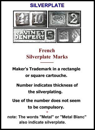 French Hallmarks Illustrated 1798 1972 Online
