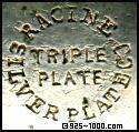 Racine Silver Plate Co., triple plate