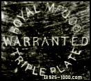 Royal Mfg.Co., warranted triple plate