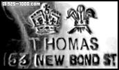 Thomas, 153 New Bond St, crown, plumes