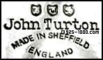 John Turton, Made in Sheffield, England