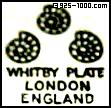 Whitby Plate, London England, snails