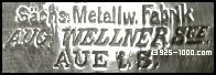 Sachs.Metallw.Fabrik, Aug.Wellner Sne, Aue