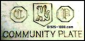Community Plate, CP, griffin, gryphon