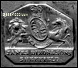 James Dixon & Sons, Sheffield, lion, unicorn