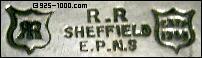 RR, Sheffield, EPNS, Est'd 1796