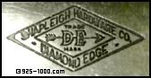 Shapleigh Hardware Co., Diamond Edge, DE trademark, 1865