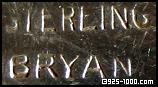 John Bryan jewelry mark