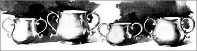 Plate IV. - Old Caudle Cups