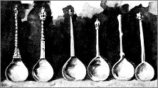 Plate VII. - Dutch & German spoons