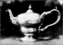 Plate IX. - An early type - teapot